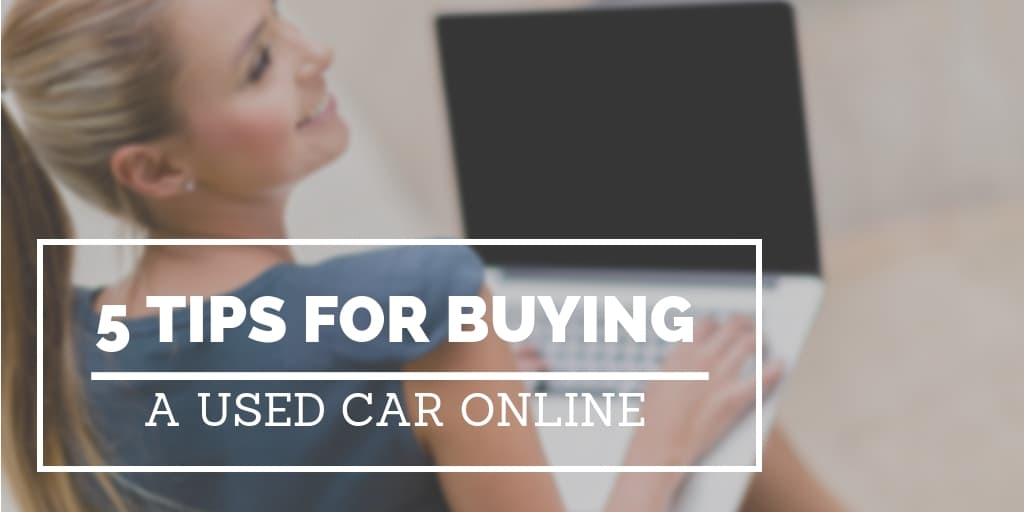 Buying used car online
