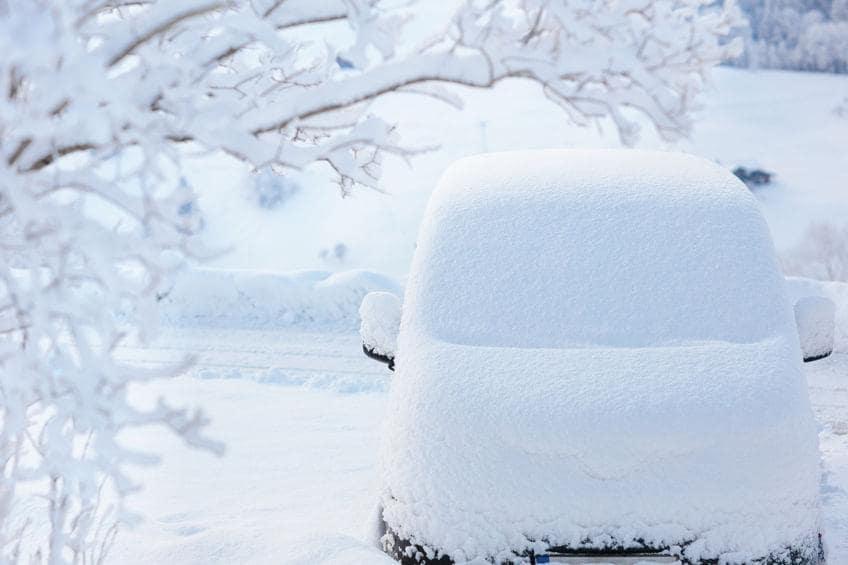 storing car for winter
