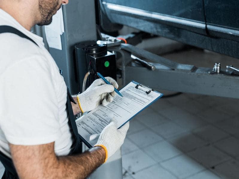 prepurchase inspection checklist